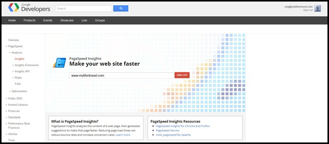 Google PageSpeed Tool 7