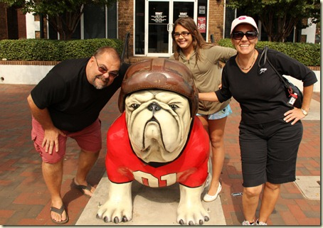 A Georgia Bulldog Family