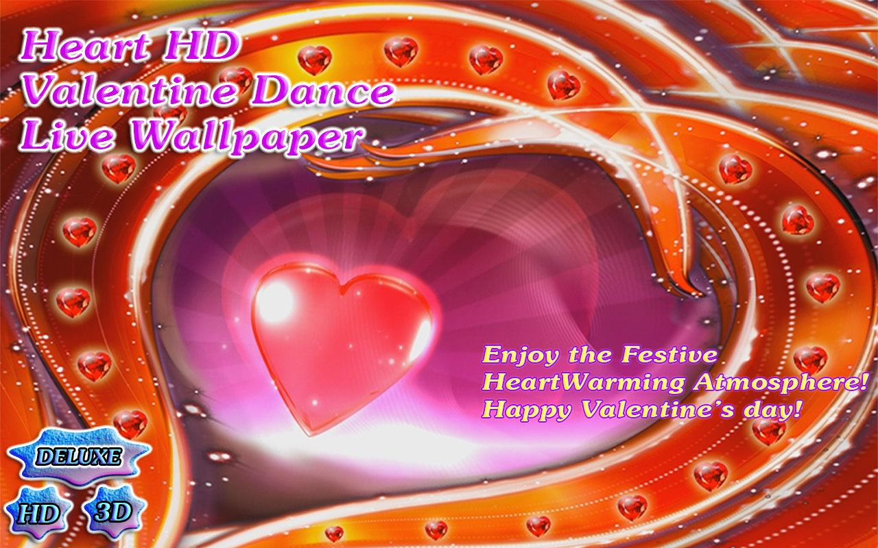 Heart Dance Valentine's Day 3D- screenshot