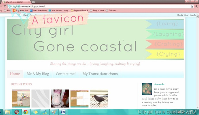 favicon on tab