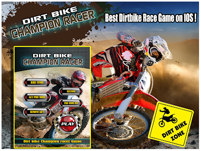 Dirt bike Champion Racer
