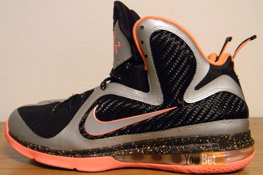 ... New Pics Upcoming Nike LeBron 9 8220Mango8221 Slated for March 2nd ... 48a9362e6e3f