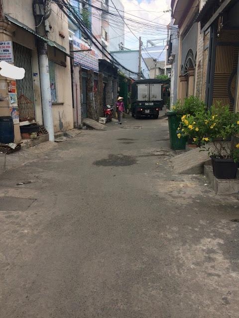 Bán nhà hẻm một sẹc Bùi Quang Là Quận Gò Vấp 02