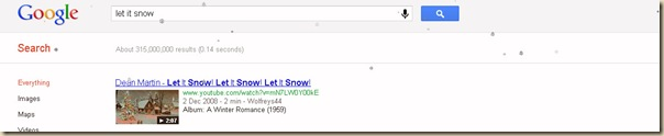 Let it snow - google-2