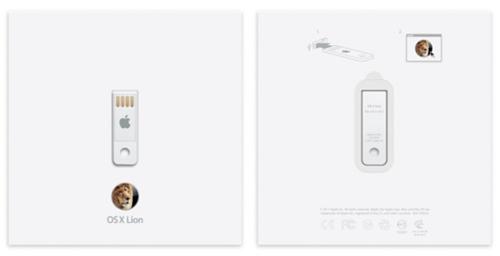Apple Lion USB stick