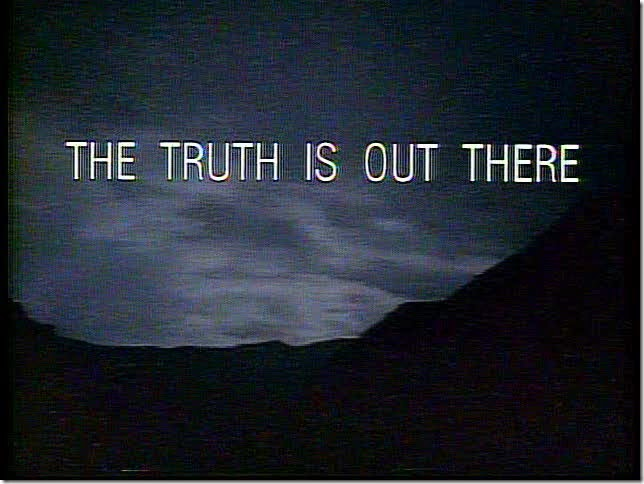 truth is out there-xfiles