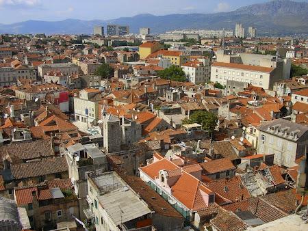 Obective turistice Split: Centrul vechi