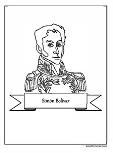 simon bolivar blogcolorear 21 1 1
