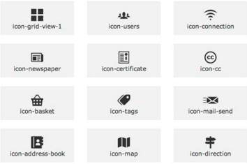 Chèn Icon vào menu trong Blogspot