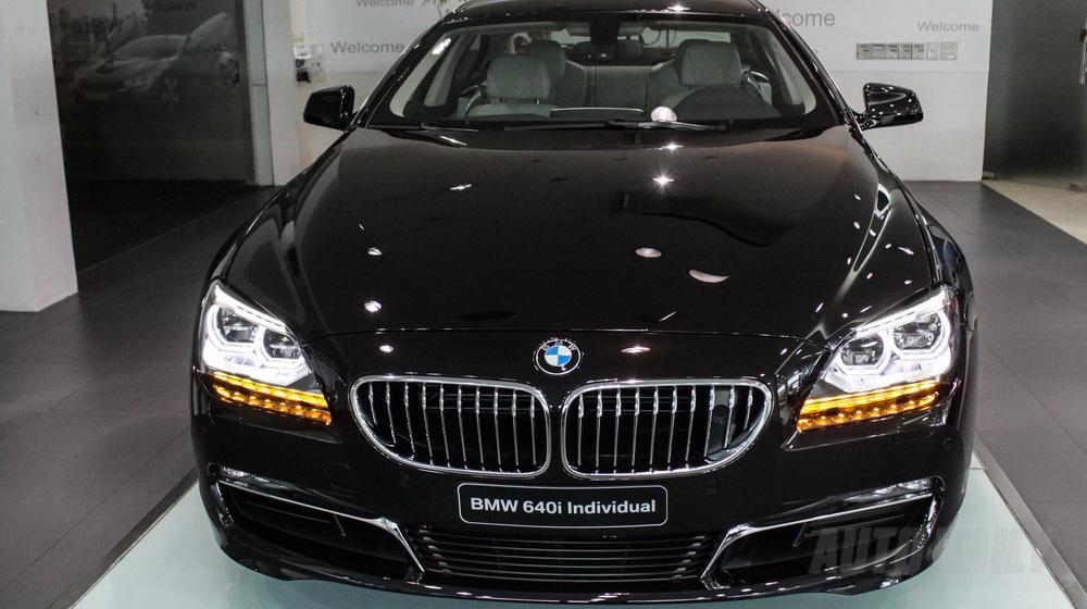 Xe BMW 640i Gran Coupe màu đen 02