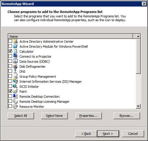 OakLeaf Systems: Enabling Remote Desktop Services in a