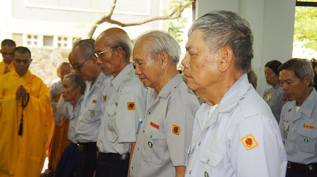 DSC06346 Lễ Hiệp kỵ   Lễ Huý Nhật Cư sĩ Sáng lập viên GĐPT Việt Nam   Tâm Minh Lê Đình Thám