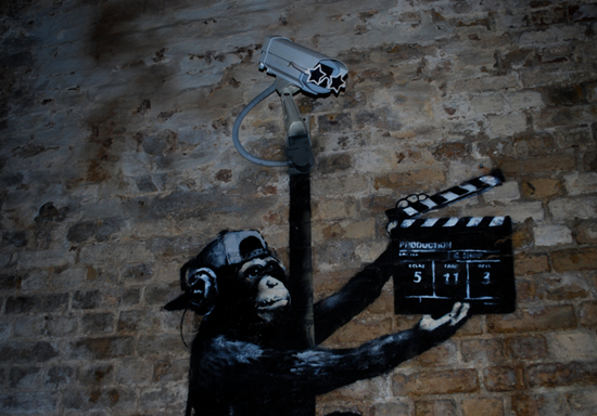 banksy monkey movie