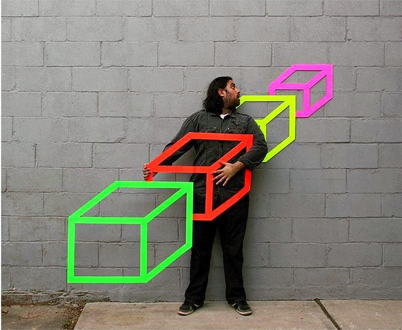 Ảnh cơ sở tạo hình ảo giác 3d