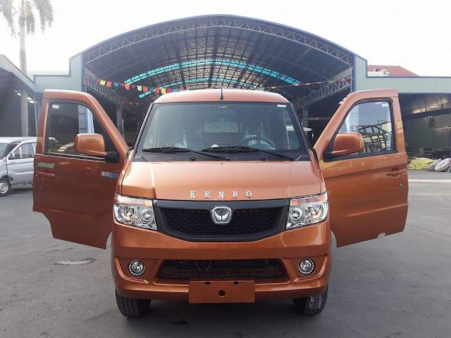 Xe tải Van 2 chỗ Kenbo 950kg có hệ thống đèn chiếu sáng lớn và cabin sơn ED với 3 chế độ sơn lót cùng nhúng theo kỹ thuật sơn cao cấp từ nước ngoài