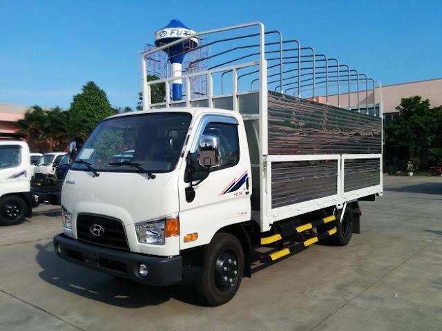 Hyundai HD78 thùng bạt