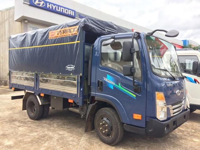 Xe tải Daehan Tera 250 thùng bạt