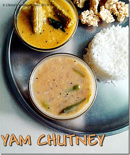 YAM GRAVY FOR RICE