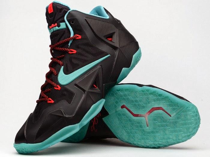 b6774c8d3b35 Release Reminder Nike LeBron XI Diffused Jade 8220Prohibition8221 ...