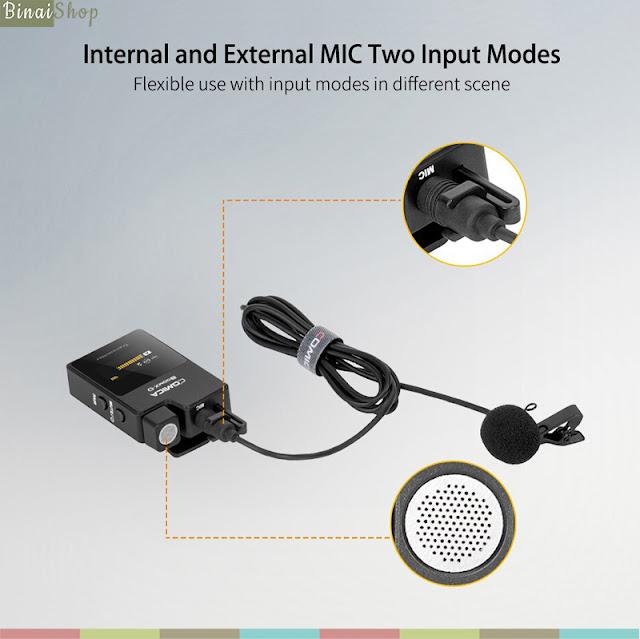 Comica BoomX-D (UC1 / UC2) - Micro Không Dây 2.4G