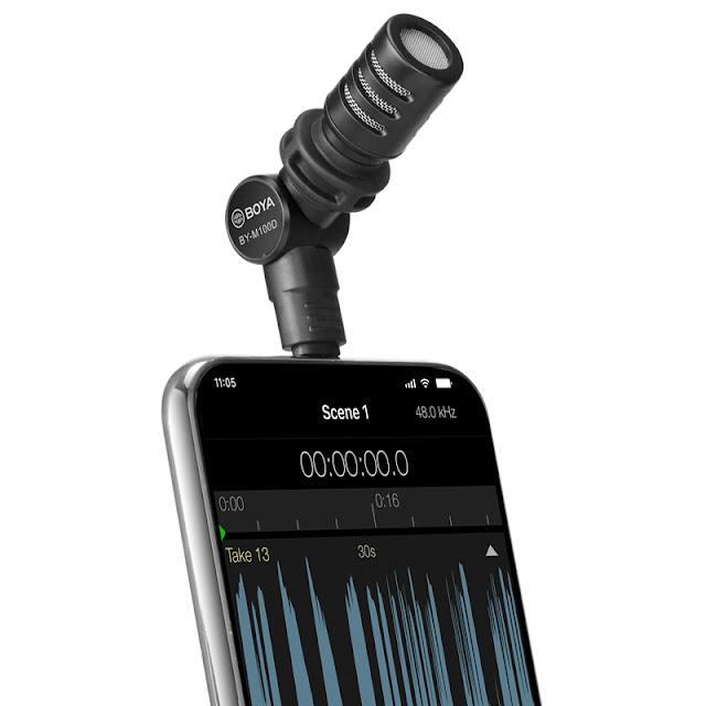 Boya BY-M100D - Micro Cổng Lightning