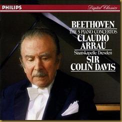 Beethoven concierto 4 Arrau Davis