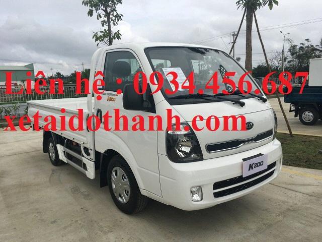 Giá lăn bánh xe Thaco Kia K200 thùng lửng