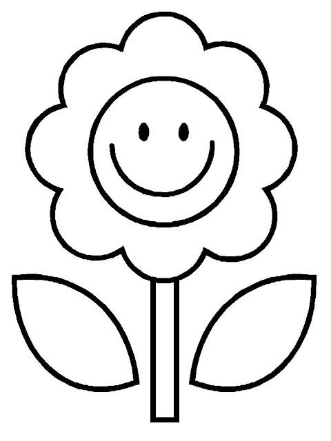 Dibujos De Arboles Y Flores Para Colorear
