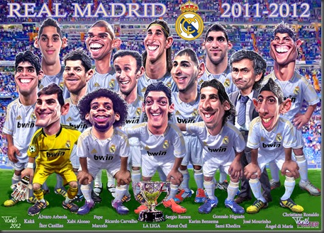 REAL MADRID 2012 nagy
