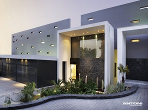 Fachada casa de lujo Saota Antoni Associates