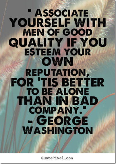 Washington quote good quality