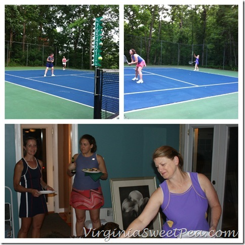 Memorial Day Tennis Party