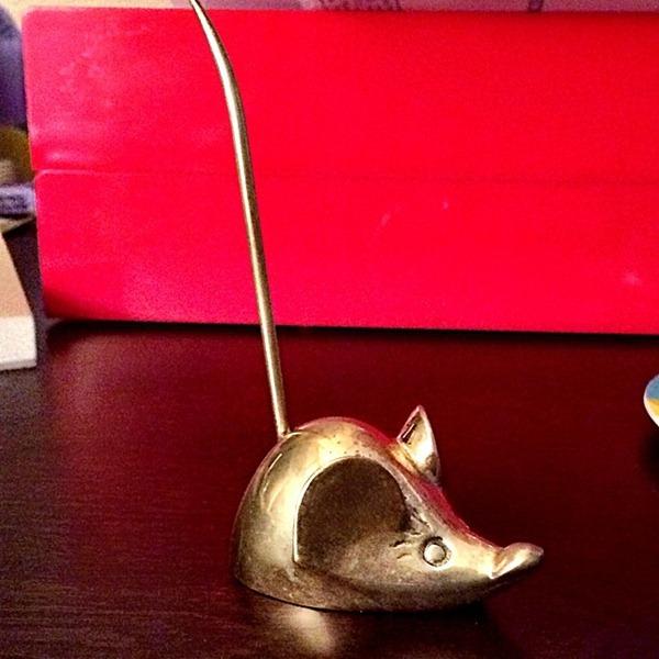 a_casarella brass mouse