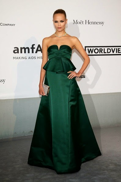 Natasha Poly Arrivals Cinema Against AIDS Gala