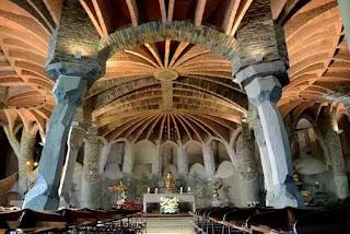 Nhà thờ Colònia Güell, Santa Coloma de Cervelló