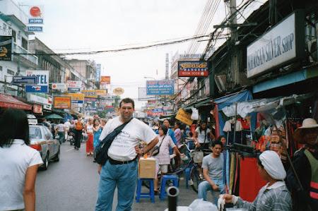 Obiective turistice Thailanda: Khao San Road Bangkok