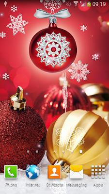 Christmas Balls Live Wallpaper - screenshot