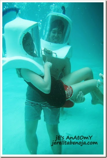helmet diving, Boracay