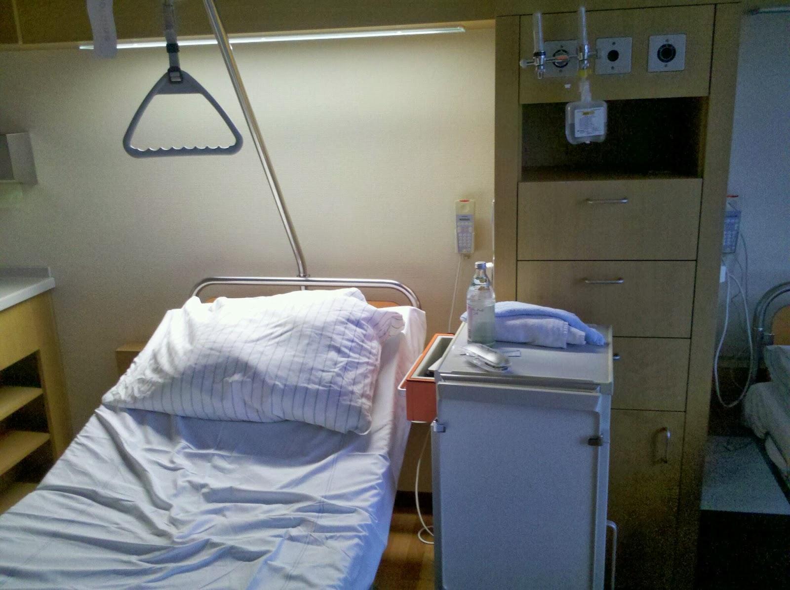 nachts waschen im krankenhaus