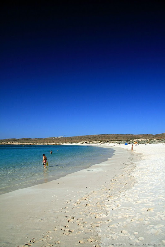 Beach of Turquoise Bay, Ningaloo Reef, Western Australia