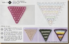 crochet triangle twenty-nine