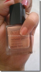 Nude Gold from the Avon nailwear pro
