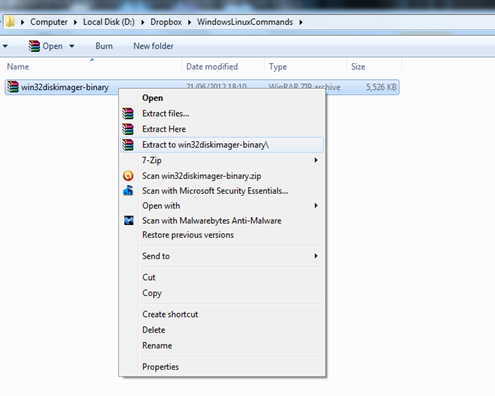 Windows Linux Commands: How To Install Raspbian On SD Card In Windows