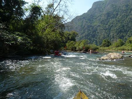 Rapids in Vang Vieng