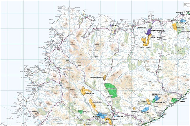 Cut-down Highland Windfarm Map June 2014