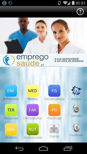 Emprego Saúde