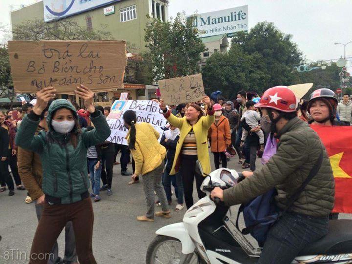 Lúc này tại trung tâm tp Thanh Hoá.