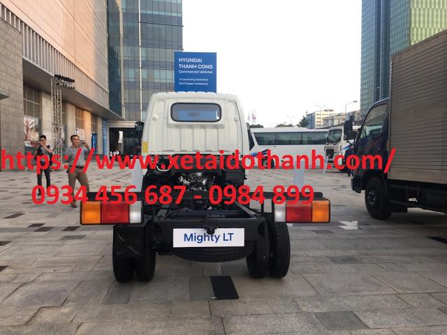 Chassi Hyundai N250 được nhập khẩu từ Hyundai Hàn Quốc