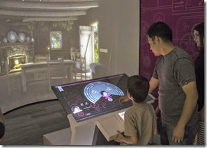 Familysearch Discovery Center  - 时间机器