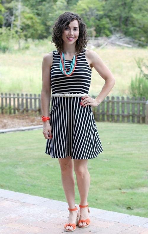 striped dress2